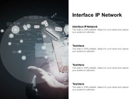 Interface IP Network Ppt Powerpoint Presentation File Introduction Cpb