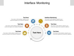 Interface Monitoring Ppt Powerpoint Presentation Pictures Guide Cpb