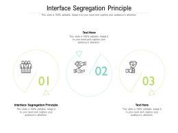 Interface Segregation Principle Ppt Powerpoint Presentation Styles Sample Cpb