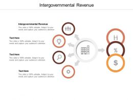 Intergovernmental Revenue Ppt Powerpoint Presentation Template Cpb