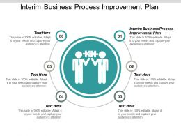 Interim Business Process Improvement Plan Ppt Powerpoint Presentation Pictures Graphic Images Cpb