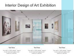 Interior Design Of Art Exhibition