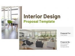Interior Design Proposal Template Powerpoint Presentation Slides
