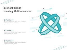 Interlock Bands Showing Multibeam Icon