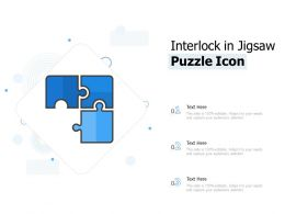 Interlock In Jigsaw Puzzle Icon