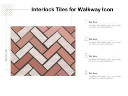 Interlock Tiles For Walkway Icon