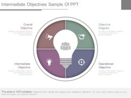 Intermediate Objectives Sample Of Ppt