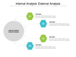 Internal Analysis External Analysis Ppt Powerpoint Presentation Ideas Show Cpb