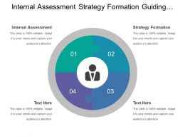 Internal Assessment Strategy Formation Guiding Policies Corporate Business Functional