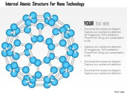 Internal Atomic Structure For Nano Technology Ppt Slides