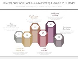 Internal Audit And Continuous Monitoring Example Ppt Model