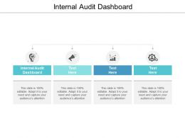 Internal Audit Dashboard Ppt Powerpoint Presentation Model Influencers Cpb