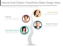 Internal Audit Division Powerpoint Slides Design Ideas