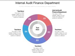 Internal Audit Finance Department Ppt Powerpoint Presentation Icon Designs Cpb