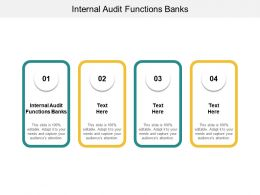Internal Audit Functions Banks Ppt Powerpoint Presentation Styles Professional Cpb