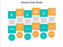 Internal Audit Model Ppt Powerpoint Presentation Professional Deck Cpb