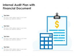 Internal Audit Plan With Financial Document