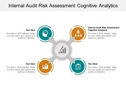 Internal Audit Risk Assessment Cognitive Analytics Ppt Powerpoint Presentation Show Pictures Cpb