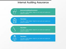 Internal Auditing Assurance Ppt Powerpoint Presentation Styles Layout Cpb