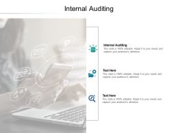 Internal Auditing Ppt Powerpoint Presentation Summary Infographic Template Cpb
