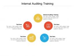 Internal Auditing Training Ppt Powerpoint Presentation Tips Cpb