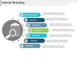 Internal Branding Ppt Powerpoint Presentation Layouts Visual Aids Cpb