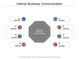 Internal Business Communication Ppt Powerpoint Presentation Gallery Gridlines Cpb