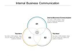 Internal Business Communication Ppt Powerpoint Presentation Inspiration Smartart Cpb