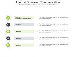 Internal Business Communication Ppt Powerpoint Presentation Professional Model Cpb