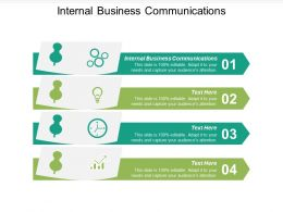 Internal Business Communications Ppt Powerpoint Presentation Icon Summary Cpb