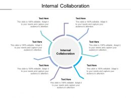 Internal Collaboration Ppt Powerpoint Presentation Gallery Master Slide Cpb