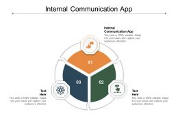 Internal Communication App Ppt Powerpoint Presentation Outline Introduction Cpb