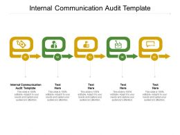 Internal Communication Audit Template Ppt Powerpoint Presentation Icon Graphic Images Cpb