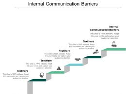 Internal Communication Barriers Ppt Powerpoint Presentation Slides Structure Cpb