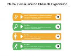 internal communication channels organization ppt powerpoint presentation file sample cpb