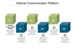 Internal Communication Platform Ppt Powerpoint Presentation Layouts Infographic Template Cpb