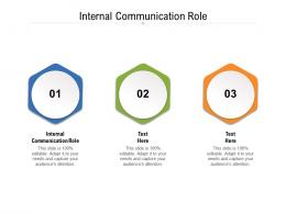 Internal Communication Role Ppt Powerpoint Presentation Inspiration Guidelines Cpb