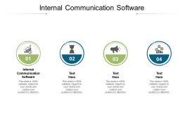 Internal Communication Software Ppt Powerpoint Presentation Files Cpb
