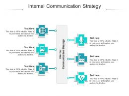 Internal Communication Strategy Ppt Powerpoint Presentation Infographic Template Design Cpb