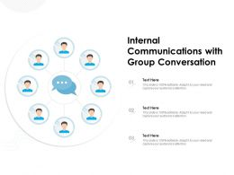 Internal Communications With Group Conversation