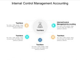 Internal Control Management Accounting Ppt Powerpoint Presentation Infographics Skills Cpb