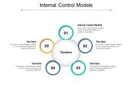 Internal Control Models Ppt Powerpoint Presentation Gallery Graphics Cpb
