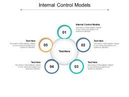 Internal Control Models Ppt Powerpoint Presentation Infographics Slides Cpb