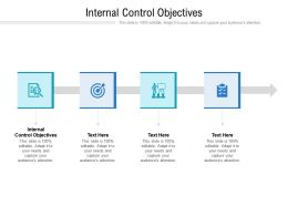 Internal Control Objectives Ppt Powerpoint Presentation Styles Templates Cpb