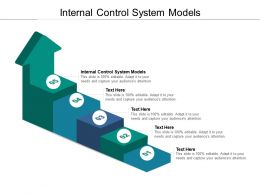 Internal Control System Models Ppt Powerpoint Presentation Outline Graphics Tutorials Cpb