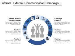 Internal External Communication Campaign Planning Strategic Marketing Plan
