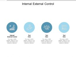 Internal External Control Ppt Powerpoint Presentation Show Background Cpb
