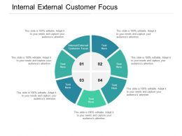 Internal External Customer Focus Ppt Powerpoint Presentation Styles Background Cpb