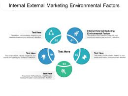 Internal External Marketing Environmental Factors Ppt Powerpoint Presentation Styles Summary Cpb