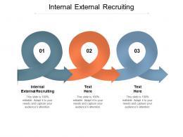 Internal External Recruiting Ppt Powerpoint Presentation Infographic Template Cpb